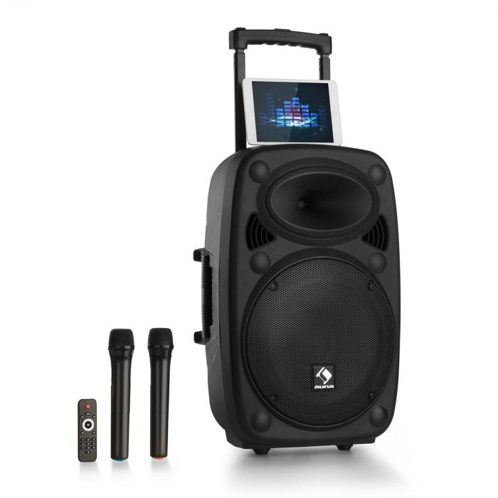 streetstar 15 mobile pa system with protective cover 15. Black Bedroom Furniture Sets. Home Design Ideas