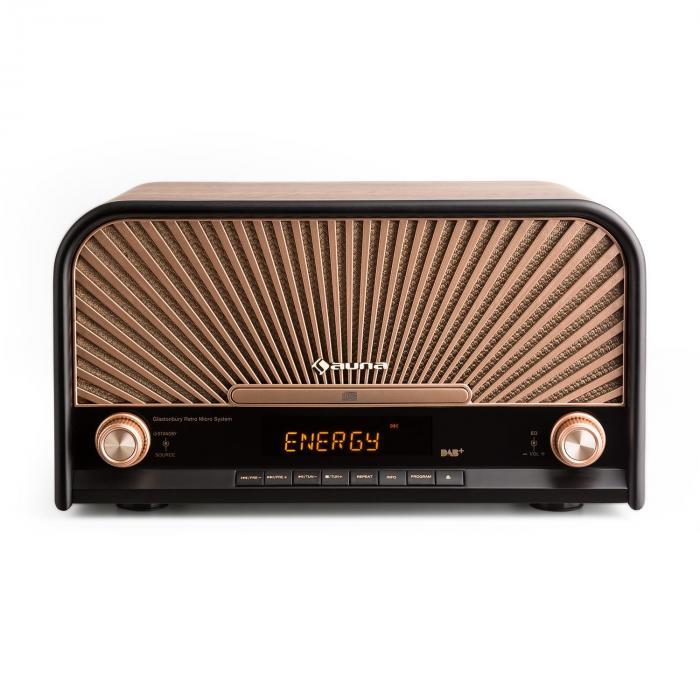 Verrassend Glastonbury Retro Stereo System DAB+ FM Bluetooth CD MP3 Player MV-07