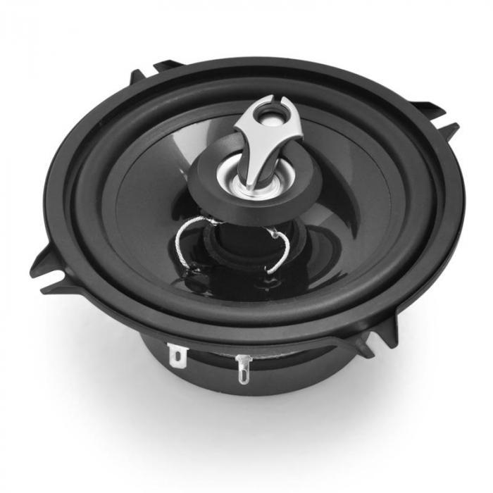 paire enceintes auto13cm 5 3 voies 500w noir 13 cm 5. Black Bedroom Furniture Sets. Home Design Ideas