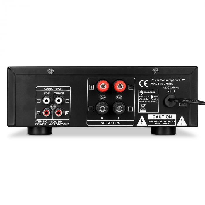 home cinema ampli pa hifi karaoke stereo 2 micro 400w. Black Bedroom Furniture Sets. Home Design Ideas