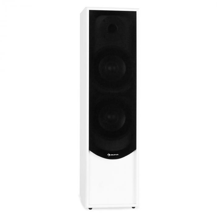 linie 300 wh enceinte pied 80w rms passive blanc blanc. Black Bedroom Furniture Sets. Home Design Ideas