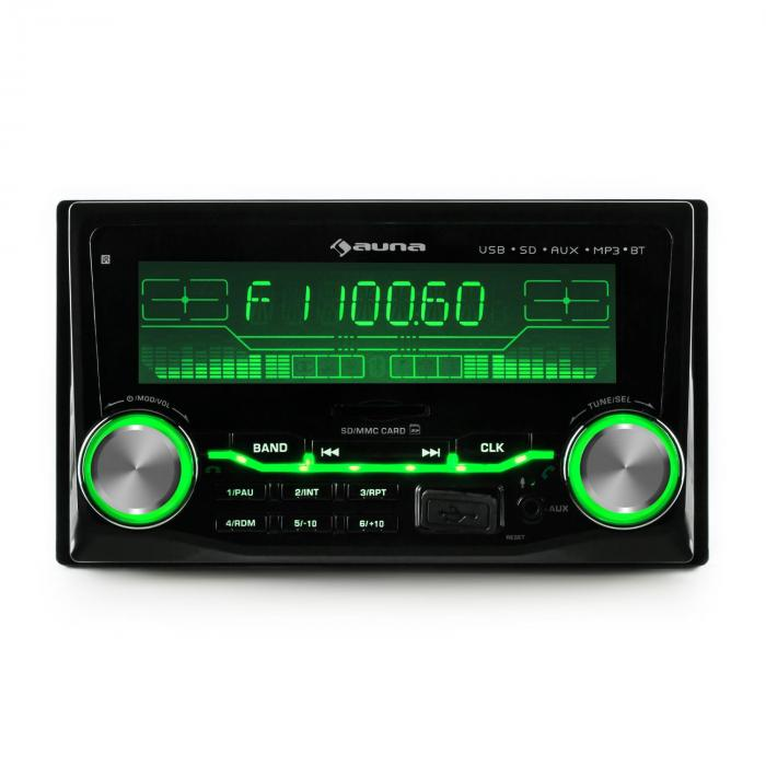 md 200 2g bt autoradio usb sd mp3 bluetooth 3 couleurs. Black Bedroom Furniture Sets. Home Design Ideas