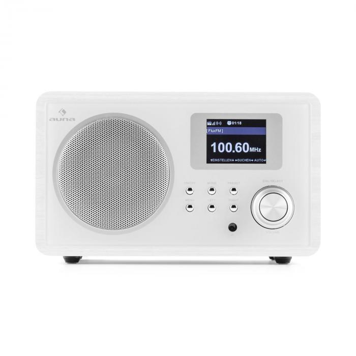 ir 150 internet radio ukw dlna w lan retro fernbedienung holzgeh use online kaufen. Black Bedroom Furniture Sets. Home Design Ideas