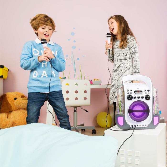 kara liquida karaoke system cd usb mp3 waterjet led 2x. Black Bedroom Furniture Sets. Home Design Ideas
