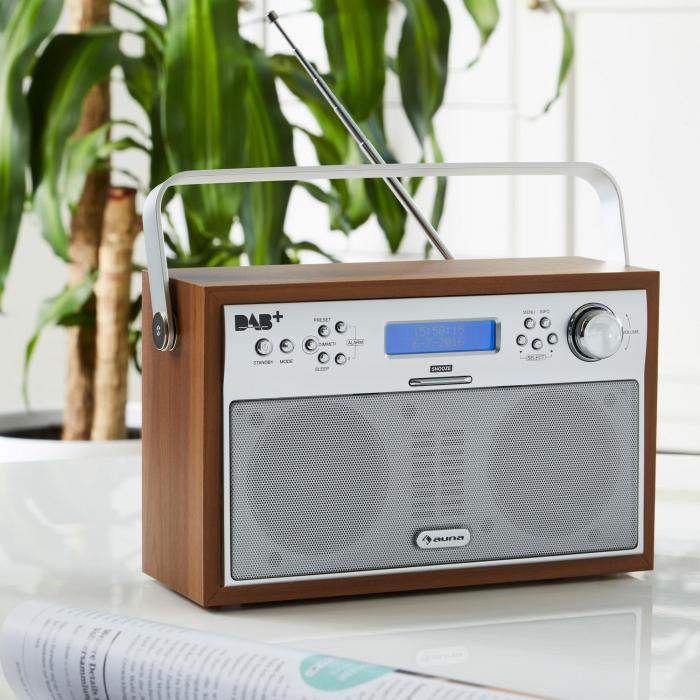 akkord digitalradio portabel dab pll ukw radio alarm lcd. Black Bedroom Furniture Sets. Home Design Ideas