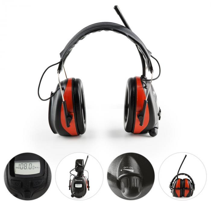 Jackhammer bt casque antibruit radio thf bluetooth 4 0 aux - Ecouteur anti bruit ...