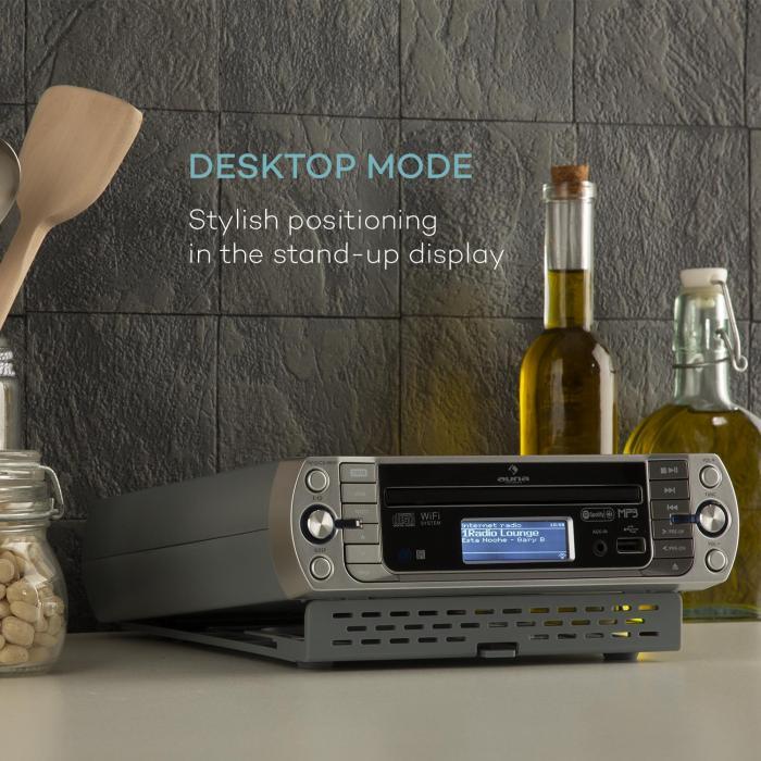 Radio For Kitchen Cabinet: KR-500 CD Kitchen Radio, Internet / PLL FM, Built-in WiFi