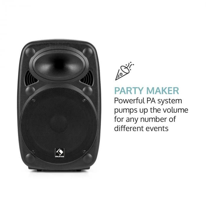 streetstar 12 syst me sono portable subwoofer 12 bluetooth usb sd mp3 fm. Black Bedroom Furniture Sets. Home Design Ideas