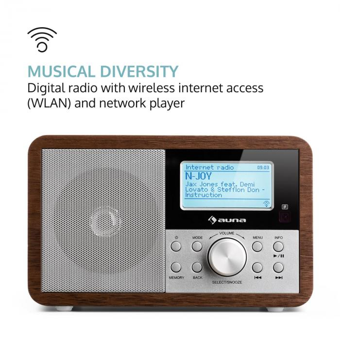 worldwide mini internetradio wlan netzwerkplayer usb mp3. Black Bedroom Furniture Sets. Home Design Ideas