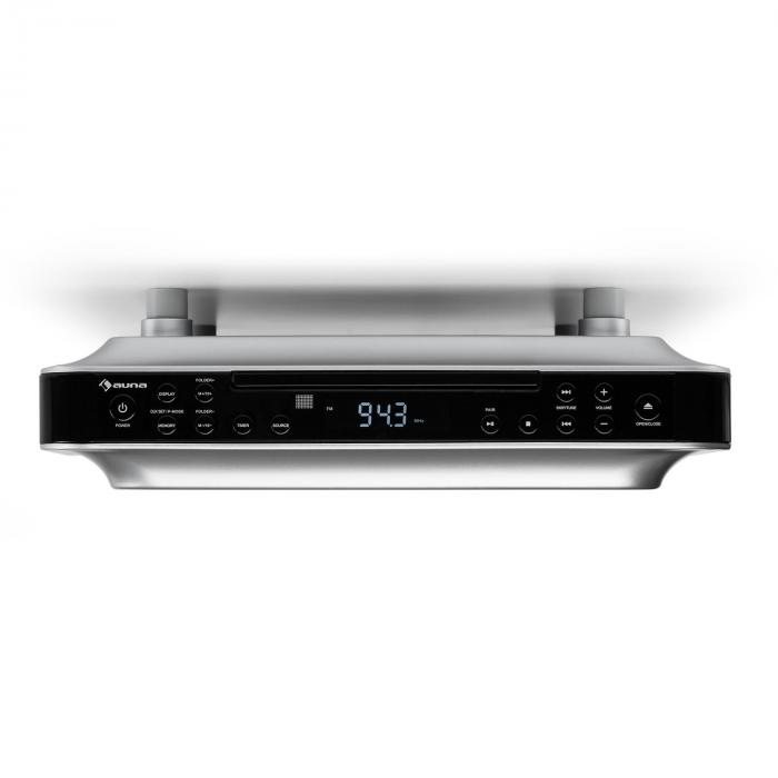 Cd Player For Kitchen Under Cabinet: KRCD-100 BTKitchen Under Cabinet Radio CD MP3 Radio Black
