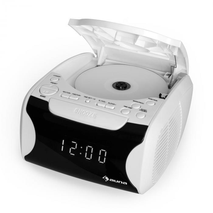 dreamee usb radio r veil lecteur cd mp3 cran lcd blanc blanc. Black Bedroom Furniture Sets. Home Design Ideas