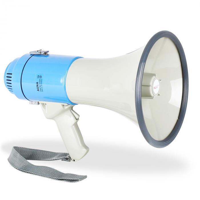 Mégaphone Porte Voix W M Sirène Manif Foot Aunafr - Porte voix
