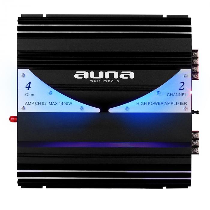 amp ch02 2 kanal verst rker auto endstufe 190w rms 1400w. Black Bedroom Furniture Sets. Home Design Ideas