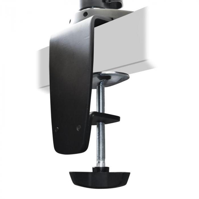 Soporte auna et01 c04 4 pantalla mesa brazo giratorio for Soporte mesa tv samsung