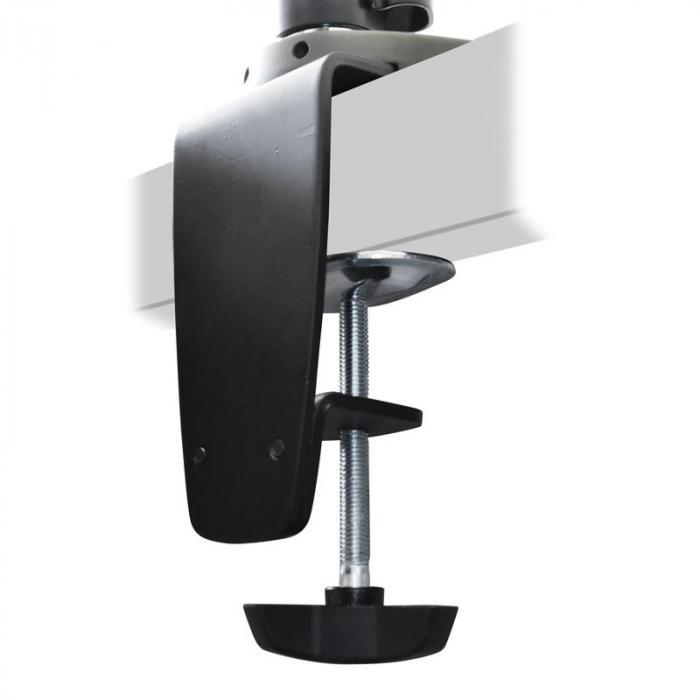 et01 c06 tischhalterung f r 6 monitore. Black Bedroom Furniture Sets. Home Design Ideas