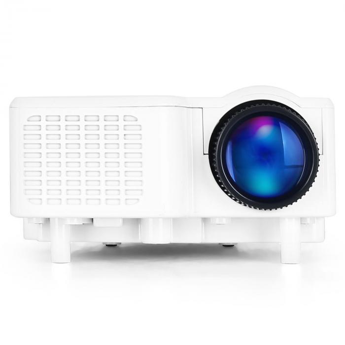 Led Mini Projector Vga Laptop Beamer Av White Purchase
