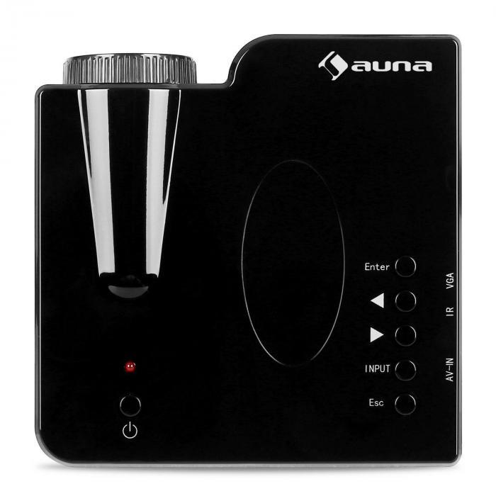 Led Mini Projector Vga Laptop Beamer Av Black Purchase