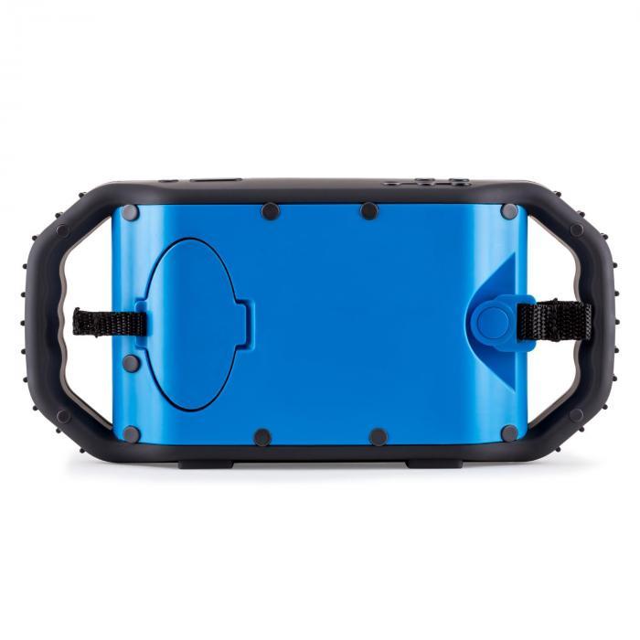 poolboy bluetooth lautsprecher blau usb aux wasserdicht. Black Bedroom Furniture Sets. Home Design Ideas