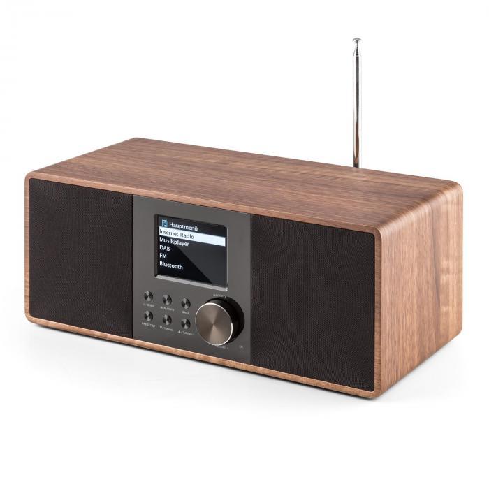 connect 120 radio internet bluetooth wifi dab dab fm rds usb mp3 marron noyer. Black Bedroom Furniture Sets. Home Design Ideas