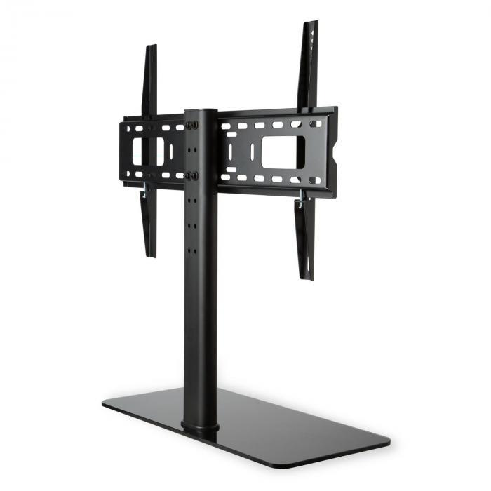 tv stand size l height 75 cm height adjustable 23 55. Black Bedroom Furniture Sets. Home Design Ideas