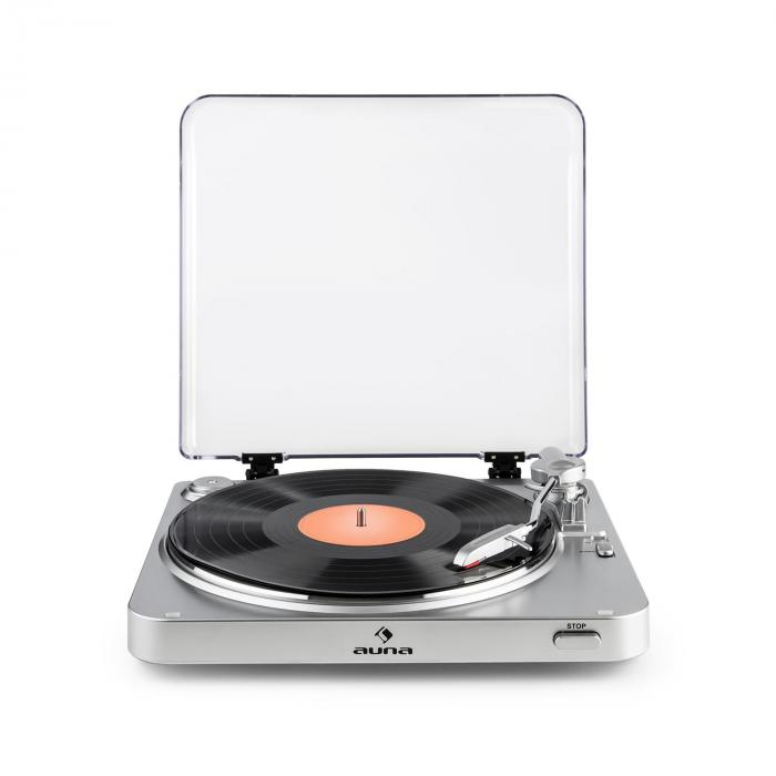 tt 30 bt platine vinyle tourne disque bluetooth line out rca usb argent argent. Black Bedroom Furniture Sets. Home Design Ideas