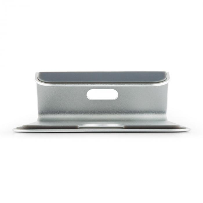 a st 1 laptop halterung notebook st nder 18 aluminium silbern online kaufen. Black Bedroom Furniture Sets. Home Design Ideas