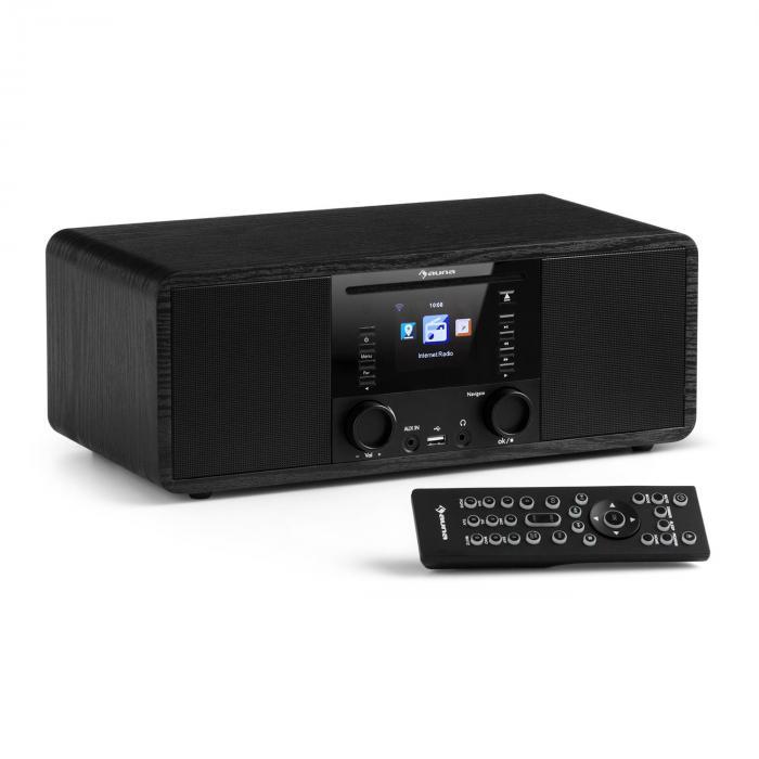 IR-190 Internetradio CD-Player WiFi UPnP USB Fernbedienung