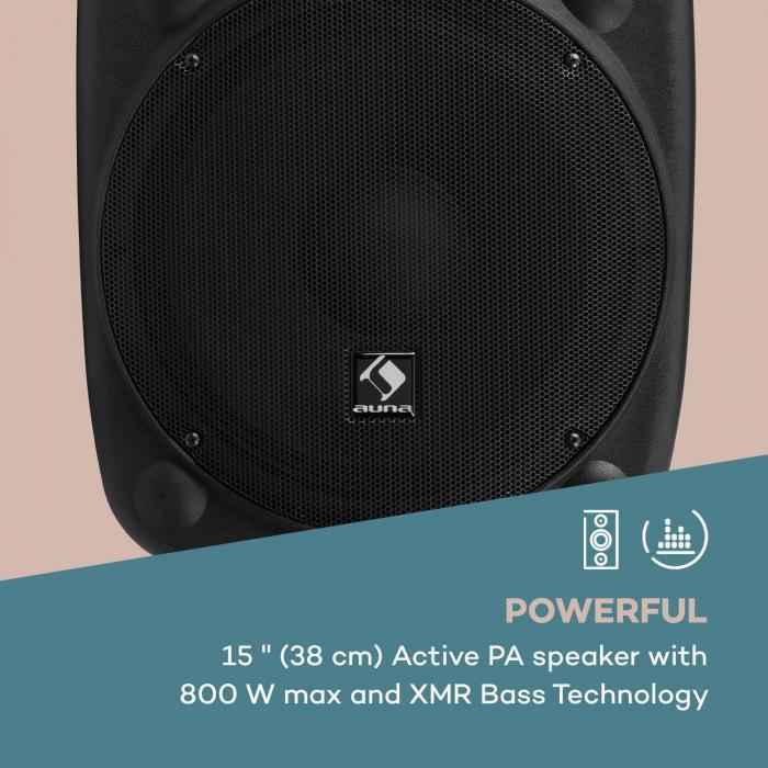 SLK-15-A Active PA Speaker 15