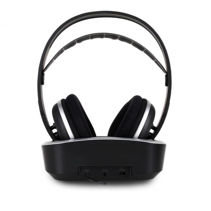 ph7804 casque audio uhf wifi sans fil port e 100m. Black Bedroom Furniture Sets. Home Design Ideas