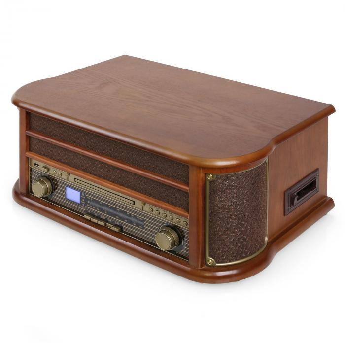 belle epoque 1908 retro vintage stereo turntable vinyl fm. Black Bedroom Furniture Sets. Home Design Ideas