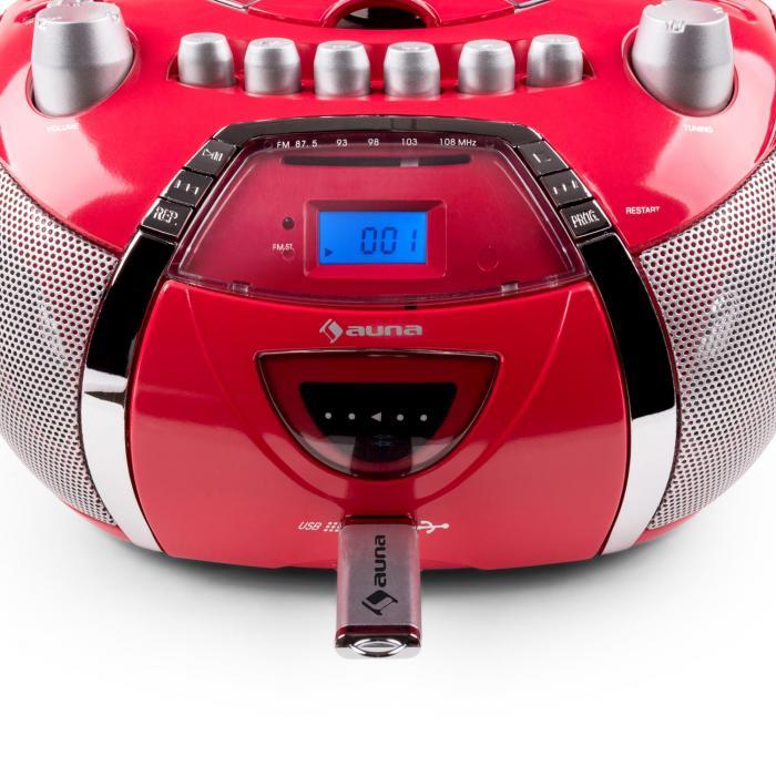 beegirl poste radio st r o cd mp3 usb rouge. Black Bedroom Furniture Sets. Home Design Ideas