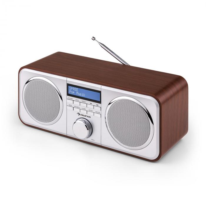 georgia dab radio dab fm station presets alarm clock aux. Black Bedroom Furniture Sets. Home Design Ideas