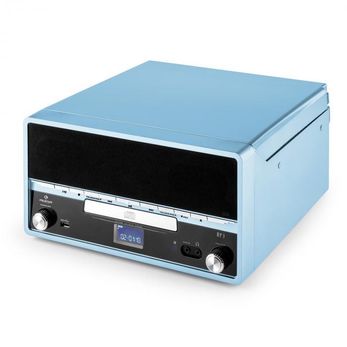 rtt 1922 cha ne hifi r tro mp3 cd usb fm aux mode enregistremement bleu bleu. Black Bedroom Furniture Sets. Home Design Ideas