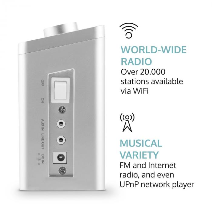 KR 200 Küchenradio Internetradio Spotify Connect WiFi DAB+ UKW RDS ...