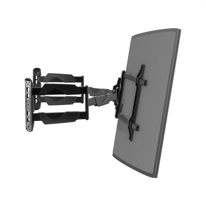 tv wandhalterung curved ecke led lcd kippbar neigbar. Black Bedroom Furniture Sets. Home Design Ideas