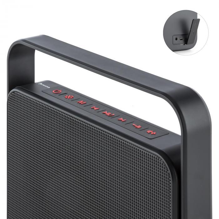 dazzl 5 0 enceinte bluetooth portable led aux batterie kit mains libres. Black Bedroom Furniture Sets. Home Design Ideas