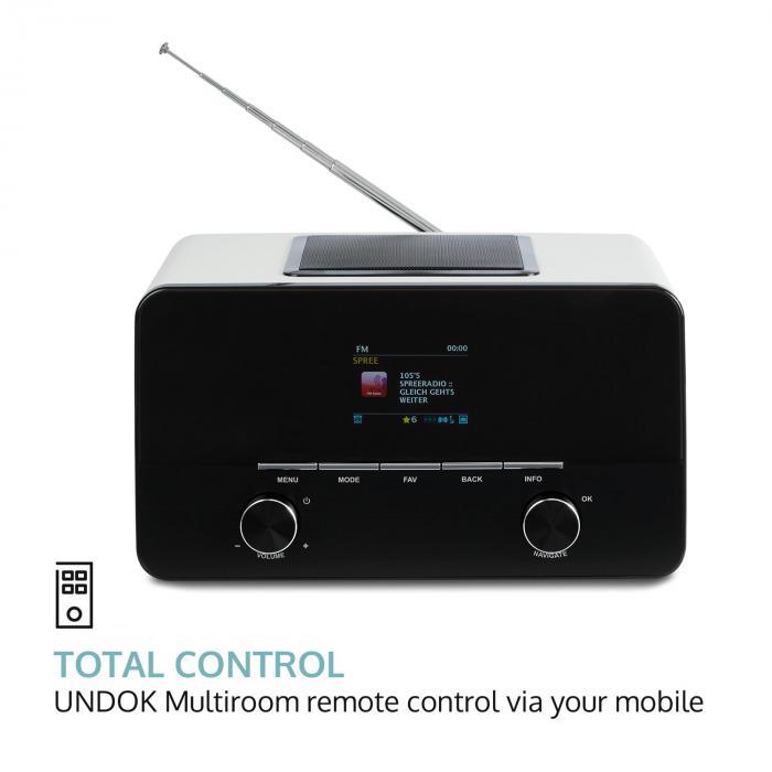 connect 150 wh 2 1 internet radio mediaplayer wlan lan usb. Black Bedroom Furniture Sets. Home Design Ideas