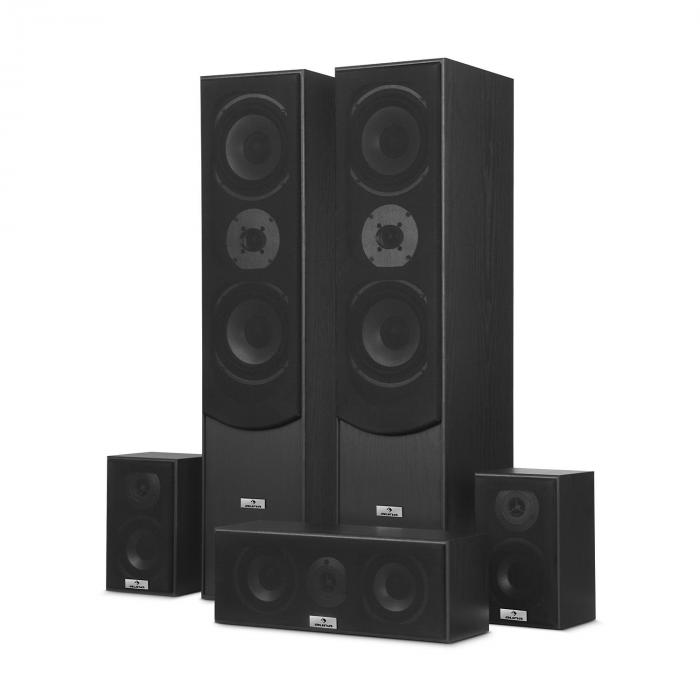 Surround Speaker Box Set Home Theatre 335w Rms Black
