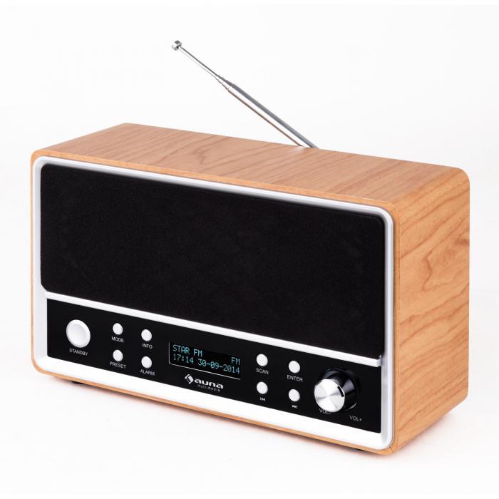 charleston dab portable digital radio fm rds alarm clock purchase online. Black Bedroom Furniture Sets. Home Design Ideas