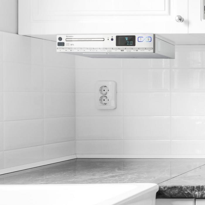 Radio For Kitchen Cabinet: MCD-20 Kitchen Unter-Counter Radio CD MP3 RDS FM Remote