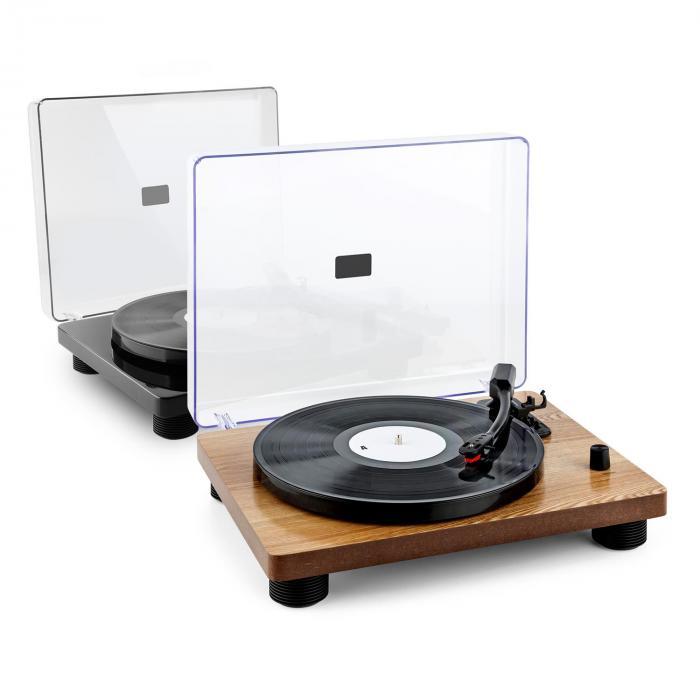 tt classic bkplatine tourne disque r tro usb line out haut parleur noir noir. Black Bedroom Furniture Sets. Home Design Ideas