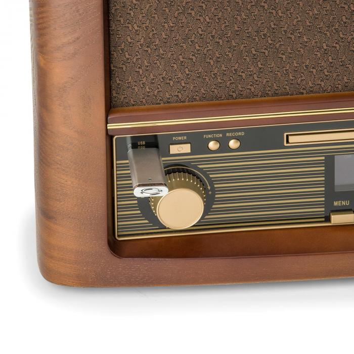 belle epoque 1906 dab retro stereo system bluetooth cd usb. Black Bedroom Furniture Sets. Home Design Ideas