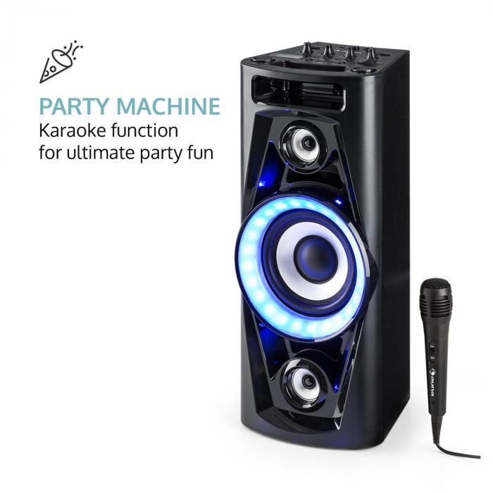 pps 35 audio system speaker battery bt usb mp3 aux fm. Black Bedroom Furniture Sets. Home Design Ideas