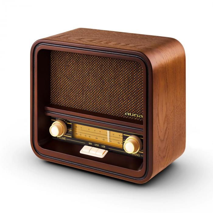 belle epoque 1901 vintage retro radio am fm usb mp3 purchase online. Black Bedroom Furniture Sets. Home Design Ideas