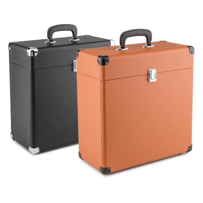 Tts6 record case valigetta porta dischi pelle nostalgia 30 - Valigia porta vinili ...