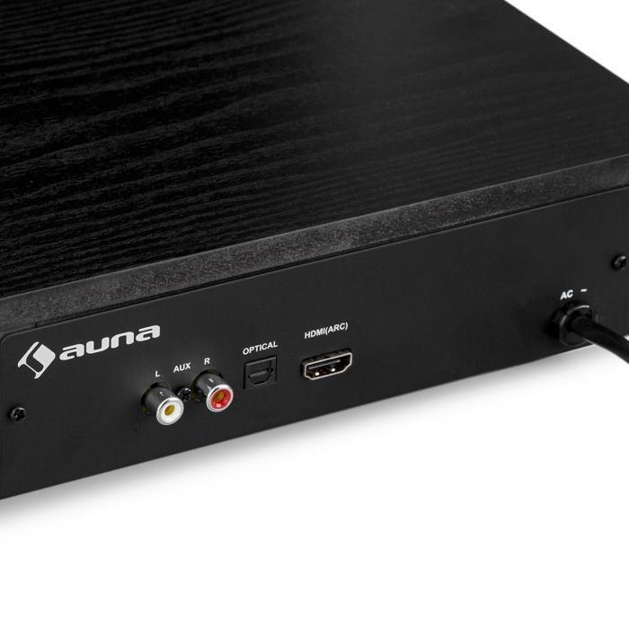 stealth bar 60 soundbase hdmi bluetooth usb bis 22kg. Black Bedroom Furniture Sets. Home Design Ideas