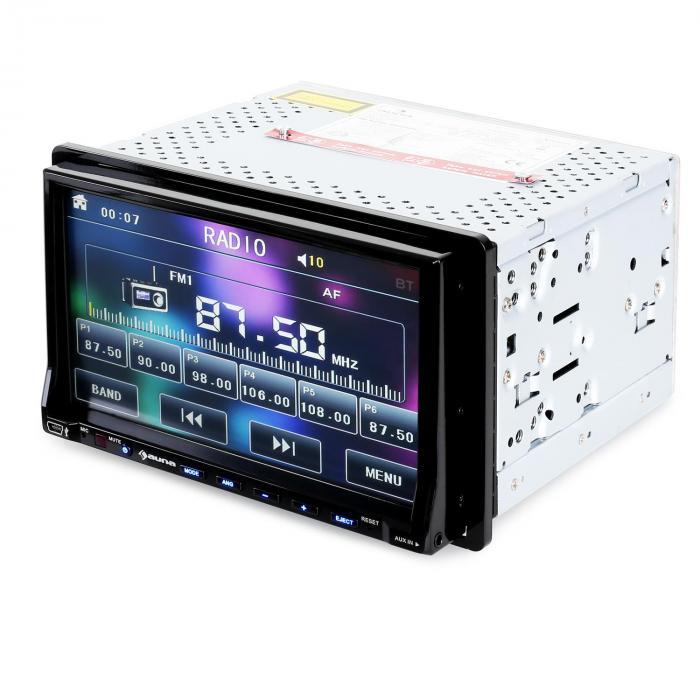 Dva72bt autoradio multim dia ecran 18cm lecteur dvd for Mini lecteur dvd de salon