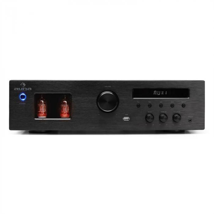 Hifi Set \'Music Glow\' | Stand Speakers | Tube Hifi Amplifier | Cable ...
