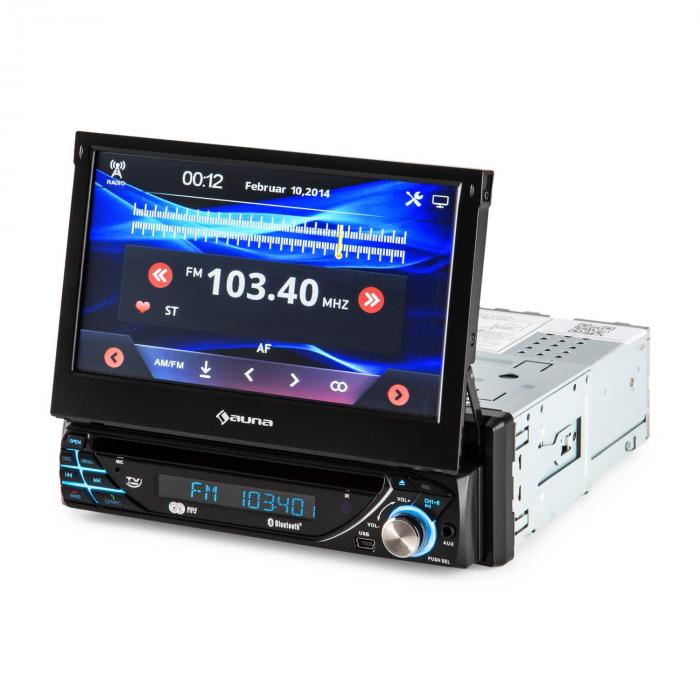 MVD-220 Autoradio DVD CD MP3 USB SD AUX 7\'\' Touchscreen Bluetooth ...