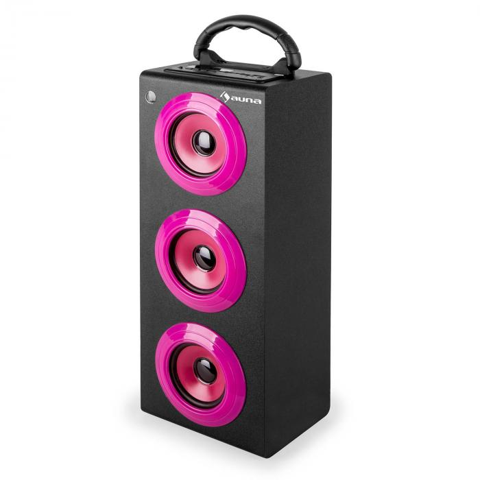 beachboy xxl bluetooth lautsprecher pink usb sd aux ukw pink xxl online kaufen. Black Bedroom Furniture Sets. Home Design Ideas